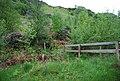 Bridleway meets and crosses the Eskdale Railway - geograph.org.uk - 1338059.jpg