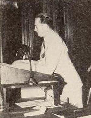Samuel J. Briskin - Briskin addressing the RKO sales conference at the Waldorf Astoria in New York City in 1936