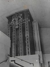 British Museum Extension. Lift Enclosure. London. After installation. 1907.jpg