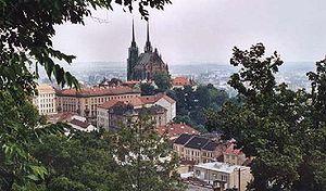 Vista de la Catedral de San Pedro y San Pablo (Petrov)