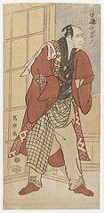 Actor Nakajima Wadaemon as Jizô, Substitute for the Landlord