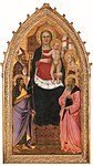 20 July 2010: Madonna and Child Enthroned with Saints Zenobius, John the Baptist, Reparata and John the Evangelist
