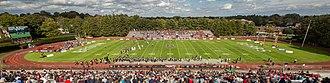Brown Stadium - Image: Brown Stadium Providence Rhode Island wide view