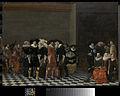 Bruiloftsfeest, vanouds bekend als 'de bruiloft van Adriaen Ploos van Amstel en Agnes van Bijler', 1616 Rijksmuseum SK-C-514.jpeg