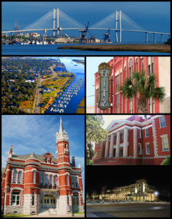 Port of Brunswick, Old Town National Historic District, Ritz Theatre, Old Brunswick City Hall, Glynn Academy, College of Coastal Georgia[clarification needed]