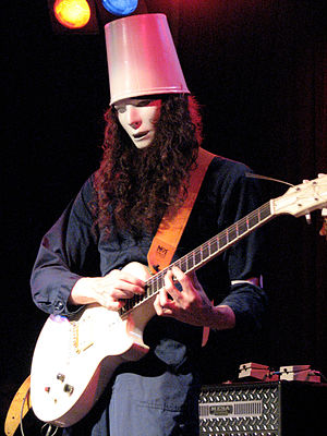 Buckethead - Buckethead performing in 2008.