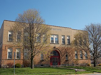 National Register of Historic Places listings in Scott County, Iowa - Image: Buffalo High School, Iowa