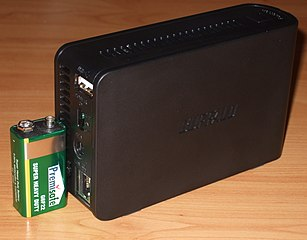 Eine Buffalo LinkStation Mini (LS-WSGL/R1) - (C) Phobie - CC 3.0 - via Wikimedia Commons