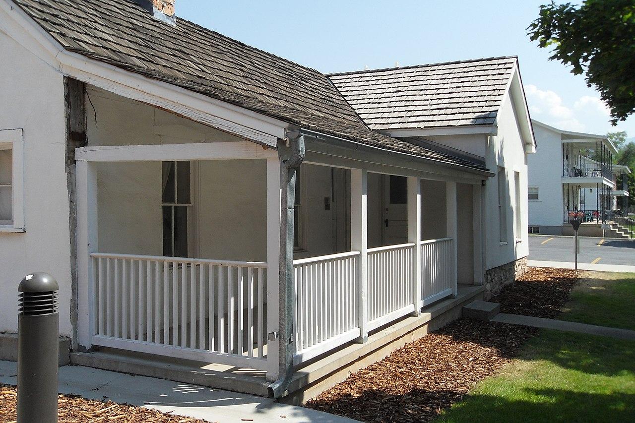 File Building 655 At Fort Douglas Utah Front Porch 25