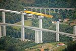 Building a bridge on the coastline near Santander, Spain (9426906529).jpg