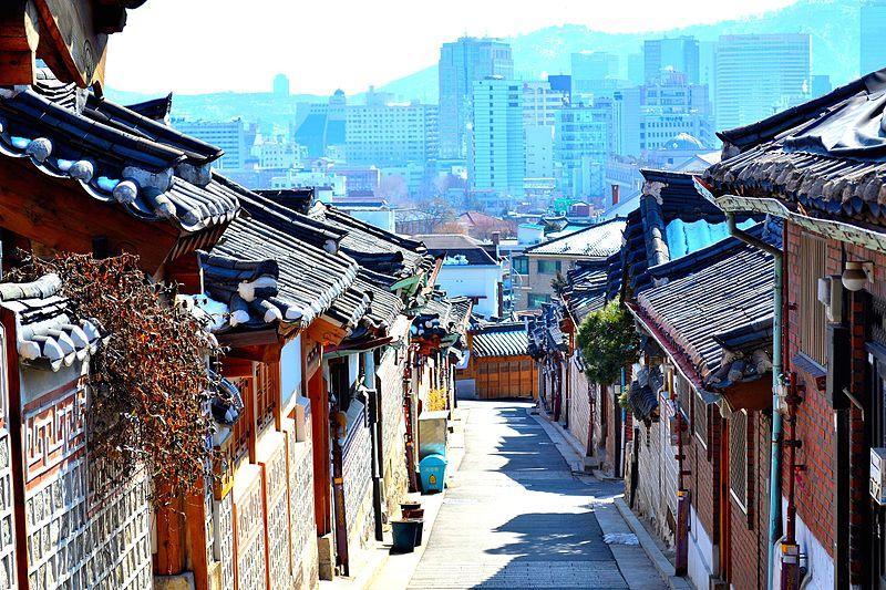 File:Bukchon Hanok Village.jpg
