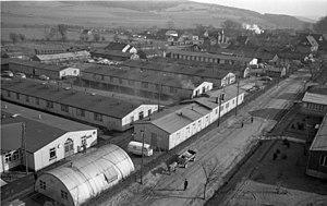 Friedland, Lower Saxony - Part of Friedland Refugee Camp in 1958