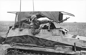 Sd.Kfz. 250 - A Sd.Kfz. 250/3 radio vehicle