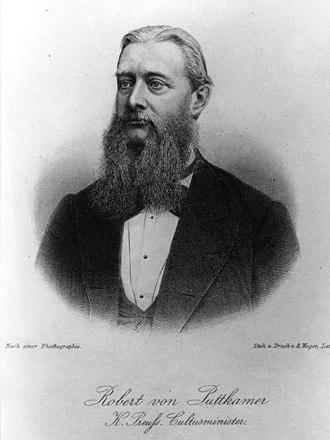 Robert von Puttkamer - Robert von Puttkamer in 1879