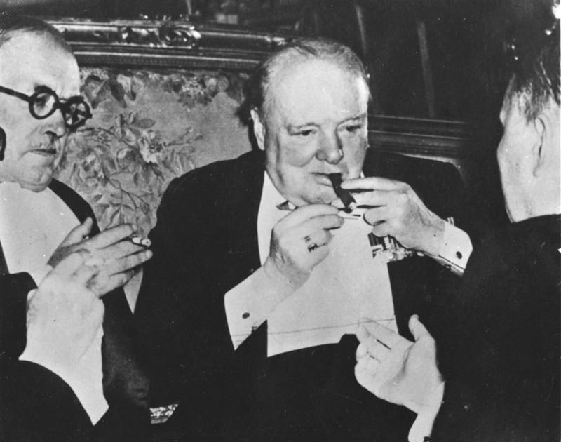 Bundesarchiv Bild 183-14059-0005, Potsdamer Konferenz, Winston Churchill