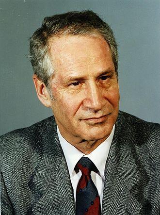 Markus Wolf - Markus Wolf on 8 December 1989.