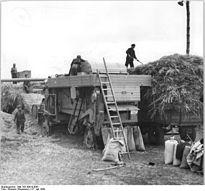 Bundesarchiv Bild 183-39919-0001, Gommern, Ernte, Rapsdreschen.jpg
