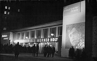 The Adventures of Werner Holt (film) - The premier of The Adventures of Werner Holt.