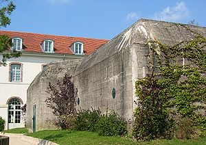 Saint-Germain-en-Laye - One of the German bunkers built in 1942