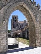 Burgos - Las Huelgas - Vista portada01.jpg
