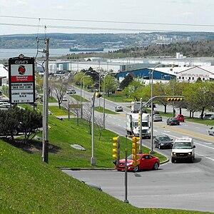 Burnside, Nova Scotia - Akerley Boulevard
