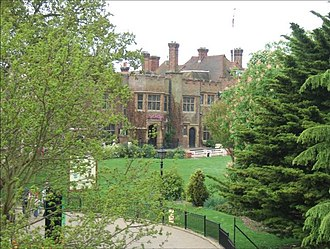 Chessington - Image: Burnt Stub Mansion geograph.org.uk 167101