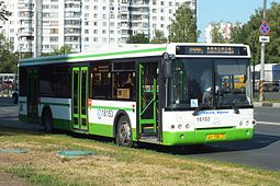 Bus 16153, route 299, Moscow (july 2014).JPG