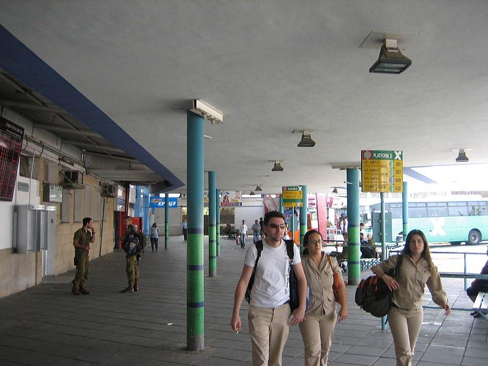 Bus station Afula