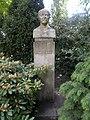 Bust of Ferenc Medgyessy by Makrisz Agamemnon, 2017 Margaret Island.jpg