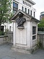 Bust of Sir Arthur Philip in Cannon Street - geograph.org.uk - 764491.jpg