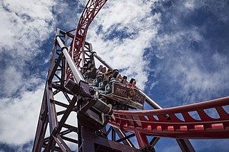 BuzzSaw (roller coaster) - Image: Buzz Saw at Dreamworld