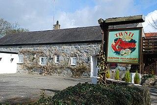 Rhydyclafdy Human settlement in Wales
