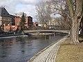 Bydgoszcz - mostek na młynówce ( Wyspa Młyńska) - panoramio.jpg