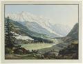 CH-NB - Argentière und Tal von Chamonix mit Mont Blanc, von Nordosten - Collection Gugelmann - GS-GUGE-HACKERT-B-6.tif