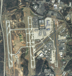Charlotte Douglas International Airport airport in Charlotte, North Carolina, United States