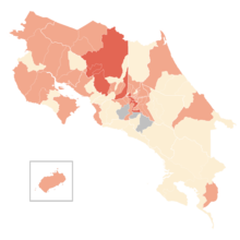 COVID-19 Outbreak Cases in Costa Rica by cantons (Density).png