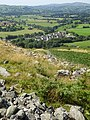 Caer Drewyn Celtic Hillfort between the Clwydian Range and the Berwyn Mountains, Corwen, Wales; early Iron Age 08.jpg