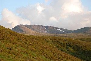 Cairngorms - Cairn Lochan (1215 m).