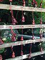 Calabashes hung near Gohonden of Dazaifu Temman Shrine.jpg