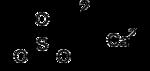Struktur von Calciumsulfit