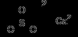 Calcium sulfite - Image: Calcium sulfite