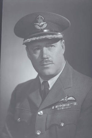Keith Caldwell - Group Captain Keith Caldwell c. 1944