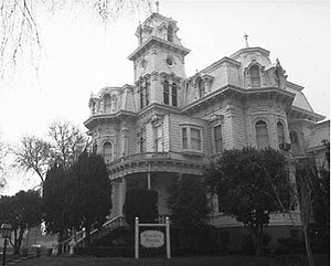 History of sacramento california wikipedia the california governors mansion as seen in 1981 it was bombed in 1917 fandeluxe Images