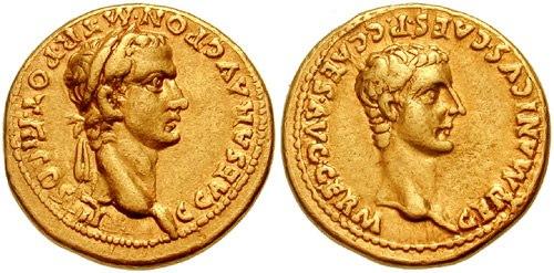 Caligula&Germanicus Aureus