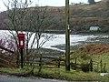 Camastianavaig Postbox - geograph.org.uk - 677668.jpg