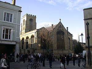 St Andrew the Great - The church from St Andrew's Street, Cambridge
