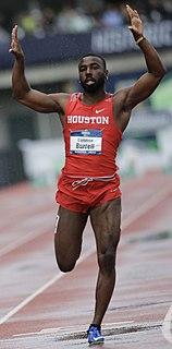 Cameron Burrell American sprinter