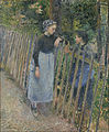 Camille Pissarro - Conversation - Google Art Project.jpg