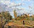 Camille Pissarro - Rue de Beaujour, Pontoise 1872.jpg