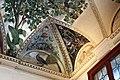 Camillo mantovano, volta della sala a fogliami di palazzo grimani, 1560-65 ca., lunette con grottesche e rebus allusivi al processo per eresia di giovanni grimani 04.jpg